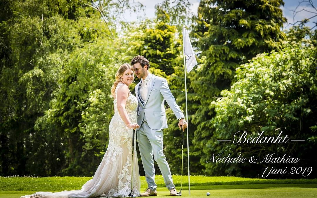 Huwelijk Nathalie & Mathias, 1 juni 2019