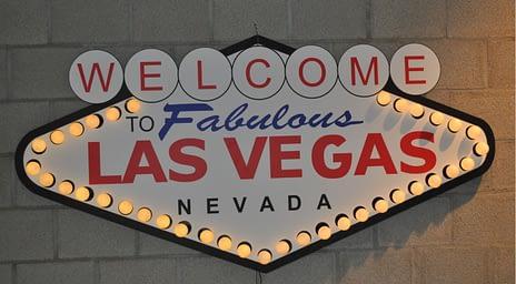 Casino Night Bord Las Vegas