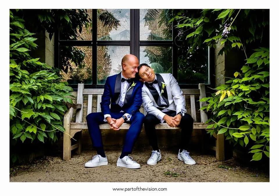 Burgerlijk huwelijk Mark & Victor, 4 juli 2020