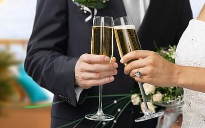 6 tips om je huwelijksreceptie op te fleuren!